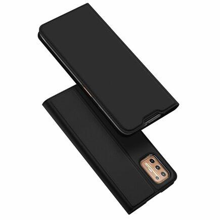 DUX DUCIS Skin Pro pouzdro s klapkou Motorola Moto G9 Plus černé