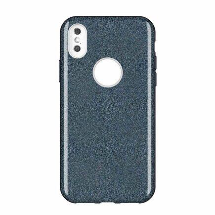 Glitter Case lesklé pouzdro s brokátem Huawei Mate 30 Lite černé