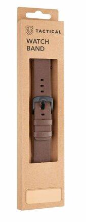 Kožený Pásek hnědý pro Samsung Galaxy Watch Active (EU Blister)