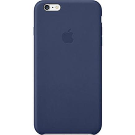 MGQV2FE/A Apple Leather Cover Pouzdro modré pro iPhone 6 / 6S Plus (EU Blister)
