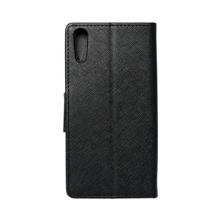 Pouzdro Fancy Book Sony Xperia XZ černé