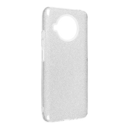 Pouzdro Forcell Shining Xiaomi Redmi Note 10 / 10S stříbrné