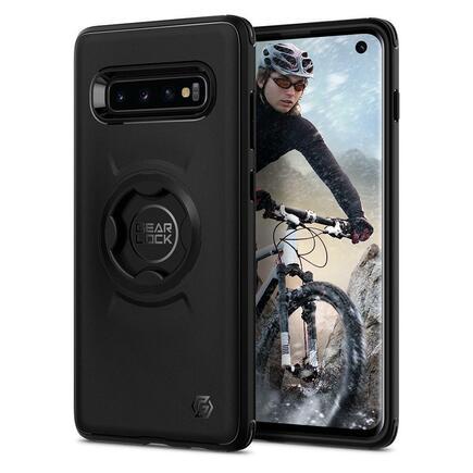 Pouzdro Gearlock CF201 Bike Mount Case Galaxy S10 černé