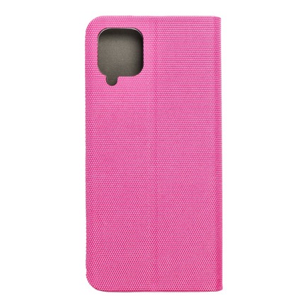 Pouzdro SENSITIVE Book pro Samsung A12 růžové