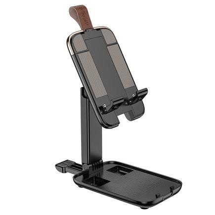 """Stolní držák HOCO pro tablet nebo telefon skládací Dawn S28 ( 4,7"""" - 14"""" ) černý"""