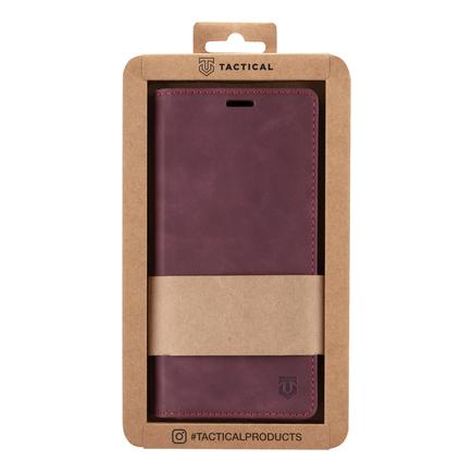 Tactical Xproof PU Kožené Book Pouzdro pro Samsung Galaxy A52 červené