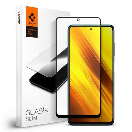 Tvrzené sklo Glass FC Xiaomi Poco X3 NFC černé