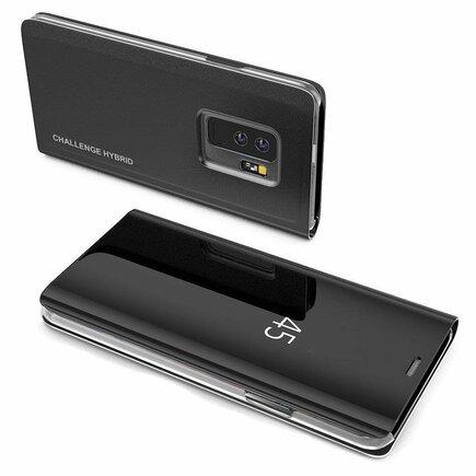 Clear View Case pouzdro s klapkou Samsung Galaxy Note 9 černé (logo Challenge Hybrid)
