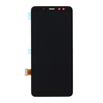 LCD display + Dotyk černý pro Samsung A530 Galaxy A8 2018 Black (Service Pack)