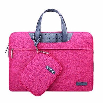 Lamando taška na notebook Laptop 15,6'' červená
