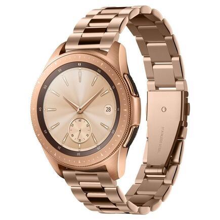 Modern Fit Band Náramek pro Samsung Galaxy Watch 42mm růžově-zlatý