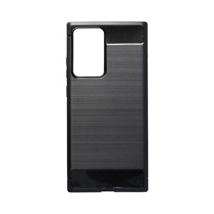 Pouzdro Carbon Galaxy Note 20 Plus černé