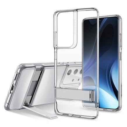 Pouzdro ESR Air Shield Boost Samsung S21 Ultra průsvitné