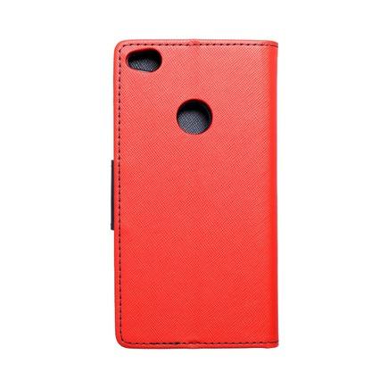 Pouzdro Fancy Book Huawei P8 Lite 2017/ P9 lite 2017 červené/tmavě modré