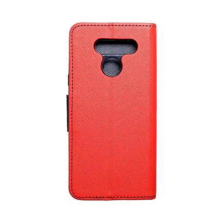 Pouzdro Fancy Book LG K50 červené/tmavě modré