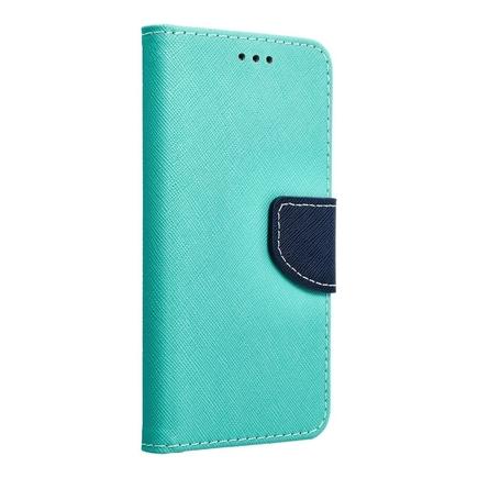 Pouzdro Fancy Book Samsung Galaxy S7 Edge (G935) mátově zelené/tmavě modré