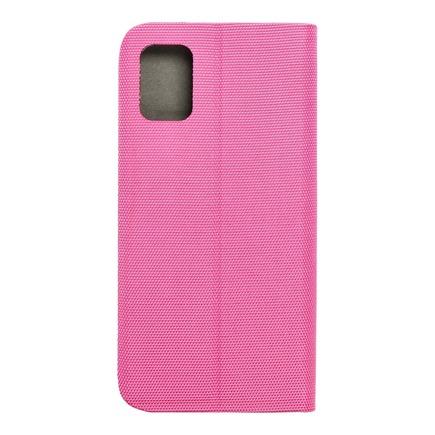 Pouzdro Sensitive Book Samsung A51 růžové