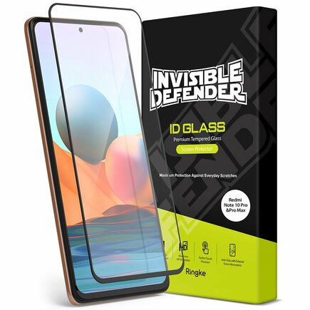 Ringke Invisible Defender ID Glass tvrzené sklo 2,5D 0,33 mm Xiaomi Redmi Note 10 Pro (G4as042)