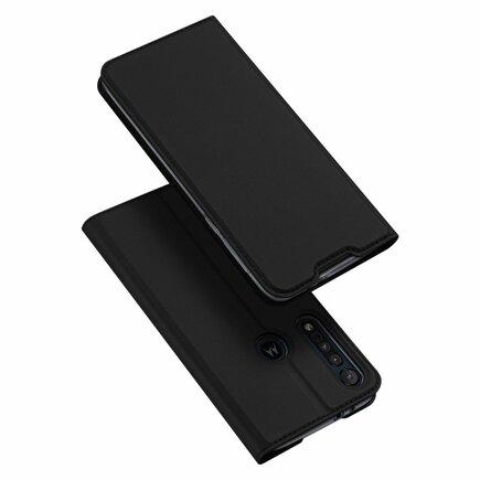 Skin Pro pouzdro s klapkou Motorola One Macro černé