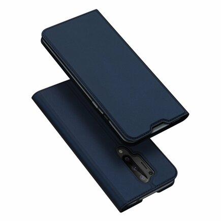 Skin Pro pouzdro s klapkou OnePlus 8 Pro modré
