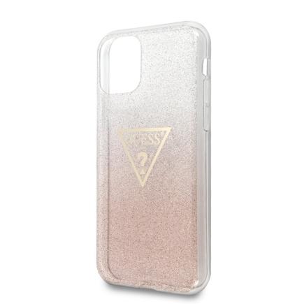 Solid Glitter Pouzdro růžové pro iPhone 11 (EU Blister)