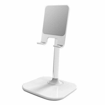 Teleskopický úchyt / stojan na tablet B026 bílý