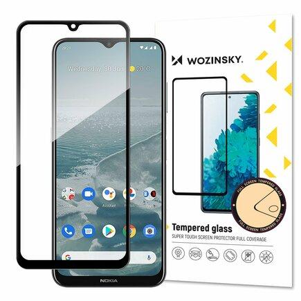 Wozinsky superpevné Full Glue tvrzené sklo přes celou obrazovku s rámečkem Case Friendly Nokia G20 černá