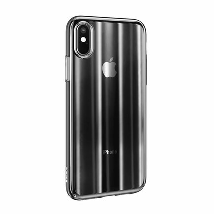 Aurora Case stínované pouzdro ombre Apple iPhone XR černé (WIAPIPH61-JG01)