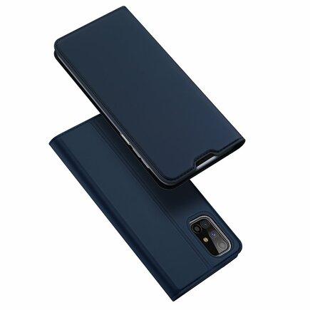 DUX DUCIS Skin Pro pouzdro s klapkou Samsung Galaxy M31s modré