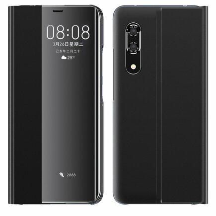 New Sleep Case pouzdro s klapkou s funkcí podstavce Huawei P30 černé