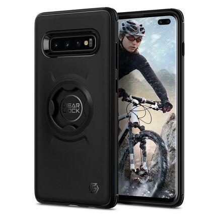 Pouzdro Gearlock CF203 Bike Mount Case Galaxy S10+ Plus černé