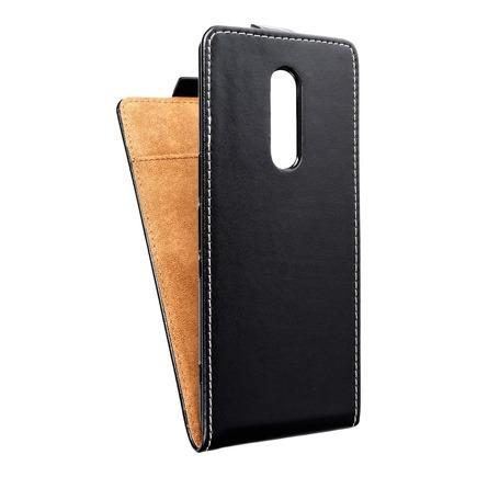 Pouzdro Slim Flexi Fresh svislé Sony Xperia 1 černé