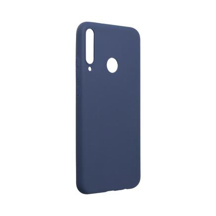 Pouzdro Soft Huawei P40 Lite E tmavě modré