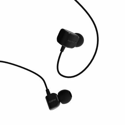 Sluchátka s mikrofonem a ovládáním černá (RM-502 black)