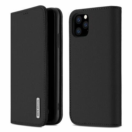 Wish kožené pouzdro iPhone 11 Pro Max černé