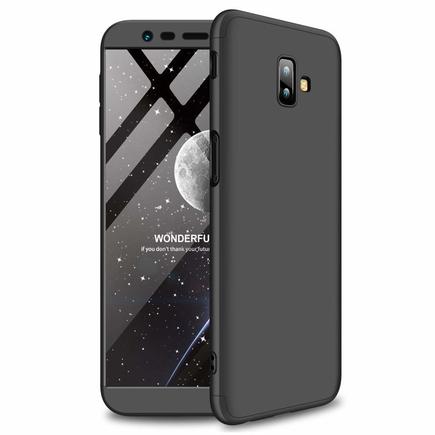 360 Protection pouzdro na přední i zadní část telefonu Samsung Galaxy J6 Plus 2018 J610 černé