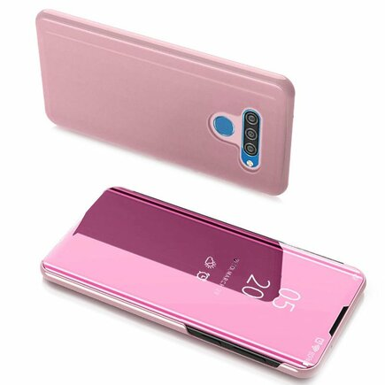 Clear View Case pouzdro s klapkou LG K51S / LG K41S růžové