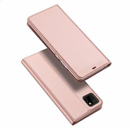 DUX DUCIS Skin Pro pouzdro s klapkou Huawei Y5p růžové