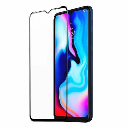 Dux Ducis 9D Tempered Glass odolné tvrzené sklo 9H na celý displej s rámem Motorola Moto G9 Play / Moto E7 Plus černé (case friendly)