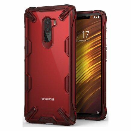 Fusion X pancéřové pouzdro s rámem Xiaomi Pocophone F1 červené (FXXI0002-RPKG)