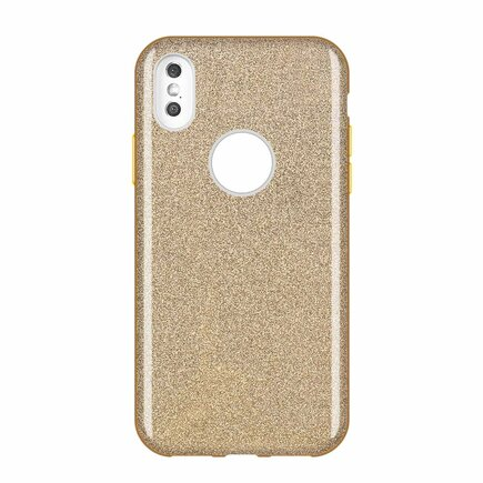 Glitter Case lesklé pouzdro s brokátem Huawei Mate 30 Lite zlaté