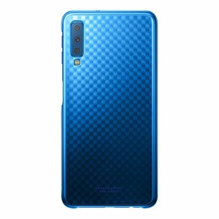 Gradation Cover pevné pouzdro s gradientem Samsung Galaxy A7 2018 A750 modré (EF-AA750CLEGWW)