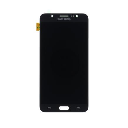 LCD display + Dotyk černý pro Samsung J710 Galaxy J7 2016 (Service Pack)