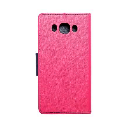 Pouzdro Fancy Book Samsung Galaxy J5 2016 růžové/tmavě modré