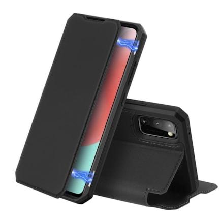 Skin X pouzdro s klapkou Samsung Galaxy A31 černé
