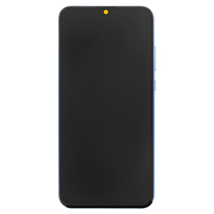 10 Lite LCD Display + Dotyková Deska + Přední Kryt Sapphire modrý (Service Pack)