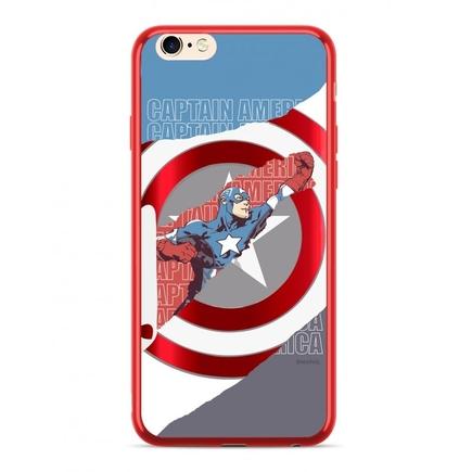 Captain America 013 Zadní Kryt červený pro iPhone 6/6S Plus