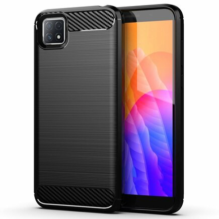 Carbon Case elastické pouzdro Oppo A73 černé