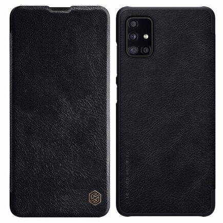 Nillkin Qin kožené pouzdro Samsung Galaxy A51 5G černé