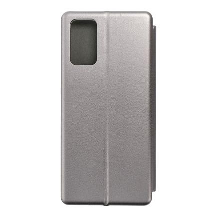 Pouzdro Book Elegance Samsung Galaxy Note 20 šedé